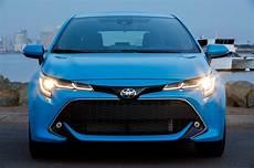 2019 new toyota corolla 2019 toyota corolla hatchback starts at 20 910 motor trend