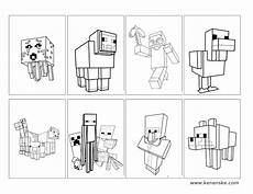 kenenske minecraft with free printables