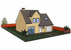 faire plan maison faire construire plan ext 233 rieur fait avec sketchup
