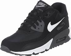 nike air max 90 youth gs shoes black white