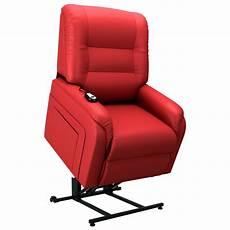 elektrischer sessel vidaxl elektrischer tv sessel mit aufstehhilfe rot