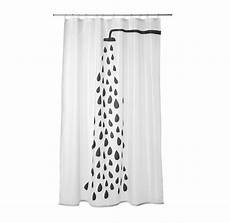 Bathroom Shower Curtains Ikea by Ikea Shower Curtain 71x71 Quot White Black Modern Bathroom