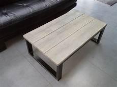 fabriquer table basse style industriel construire une table basse industrielle lille menage fr