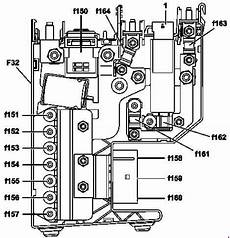 mercedes c class w204 2007 2014 fuse box diagram