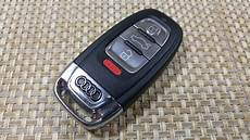 how to change smartkey key fob battery audi a5 a3 a4 s4 s5 s6 q5 keyless entry iyzfbsb802