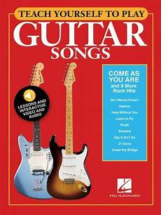 teach me how to play guitar teach yourself to play come as you are 9 more rock hits guitar 000152224 ebay