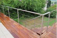 Barriere Terrasse Inox Garde Corps Cables Inox