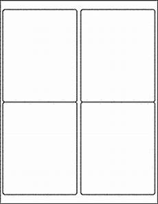 note card template 2 per page label templates ol475 4 quot x 5 quot labels