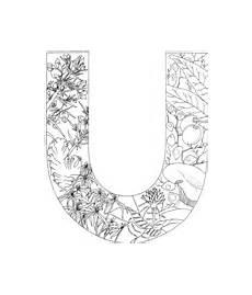 Ausmalbilder Buchstaben U Ausmalbilder Buchstaben Mit Pflanzen Malvorlagen