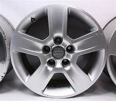audi a4 b6 felgen set of stock 16 quot audi a4 b6 wheels rims 02 05 fundo 7x16