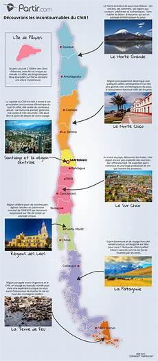 du chili cartes touristiques et plans chili r 233 gions points d