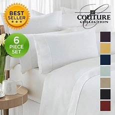 6 piece ultra soft 1800 series double brushed sheets assorted colors nomorerack com