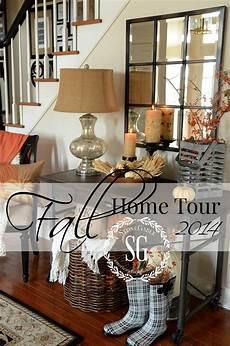 fall home tour at stonegable stonegable