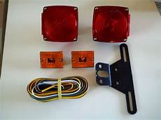 trailer light kit utility rv 12v wiring stop turn tail side marker 80 quot ebay