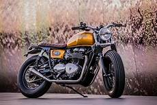 Racing Caf 232 Triumph Thruxton 900 By Out Caf 232 Racers
