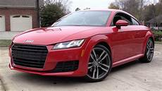 2016 audi tt quattro s tronic start up road test and in