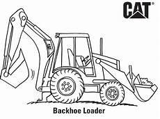 Malvorlagen Bagger Traktor Excavator Coloring Pages Coloring Home