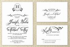 Different Types Of Wedding Invitations