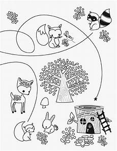 woodland animals coloring pages free 17189 free woodland creature coloring pages coloring home