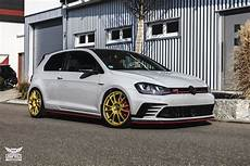 Vw Golf 7 Gti Clubsport Light Grey Premium Wrapping