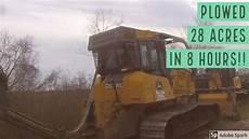 savannah 140 bedding plow john deere 700k bulldozer savannah 140 plow near intercoastal waterway youtube