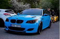 Stunning Blue Bmw M5 V10