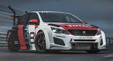 2018 peugeot 308 tcr unveiled with improved aerodynamic