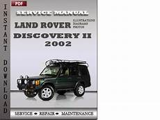 best auto repair manual 2002 land rover discovery parental controls land rover discovery 2 2002 service repair manual tradebit