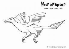 Ausmalbilder Dinosaurier Fleischfresser Microraptor Coloring Pages Dinosaurs Pictures And Facts