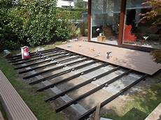 Terrassenbau Wpc Garten Landschaftsbau