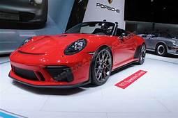 Porsche 911 Speedster Concept II  2018 Paris Motor Show Live