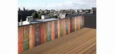 cache vue balcon wandgestaltung wohnzimmer brise vue brise vue en bois