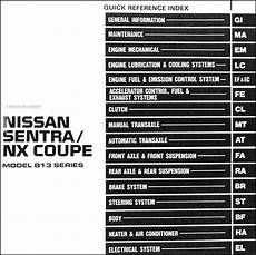 how to download repair manuals 1992 nissan nx spare parts catalogs 1991 nissan sentra nx coupe repair shop manual original