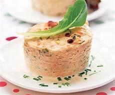 gourmet recipe two salmon terrine