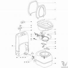 Thetford C200 S Cs Toilet Spare Parts Plumbing Shop Rv