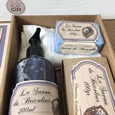 cadeau homme 60 ans bricoleur coffret cadeau savons de marseille coffret savons du