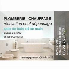 Querrou Plombier Chauffagiste Sdb Cl 233 En 224 Pluneret