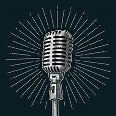 Best Microphone Illustrations Royalty Free Vector