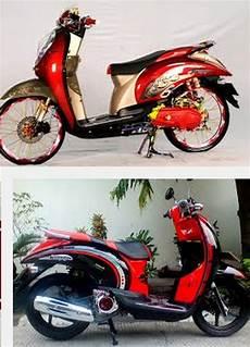 Modifikasi Motor Scoopy Terbaru by Trend 2015 Modifikasi Motor Honda Matic Scoopy Keren