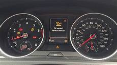 volkswagen dashboard warning lights epc