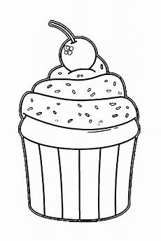Malvorlagen Cake Coloring Pages Coloring A Cake