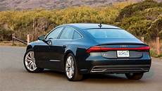2019 audi a7 first drive party in the back