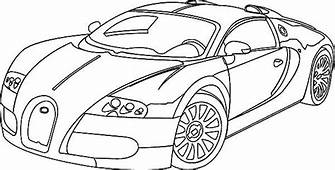 Beautiful Veyron Bugatti Car Coloring Pages  Best Place