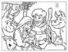 coloring pages nativity at getdrawings free