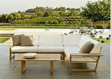 lineal corner garden sofa contemporary garden furniture