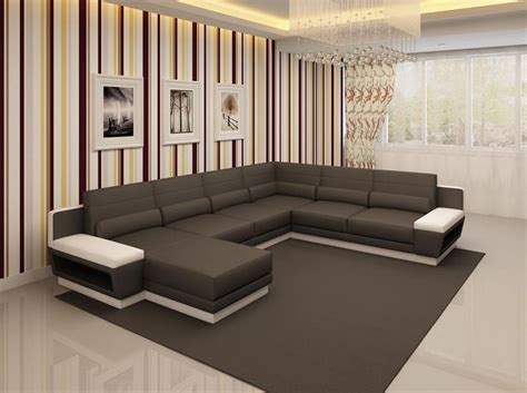 Divani Real Design : Best 25+ Leather Sectional Sofas Ideas On Pinterest