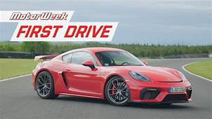 2020 Porsche 718 Cayman GT4 And Boxster Spyder  MotorWeek