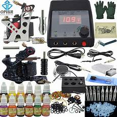 ophir 325pcs set pro complete tattoo kit 2 tattoo gun
