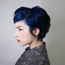 short colored hair ideas with different styles
