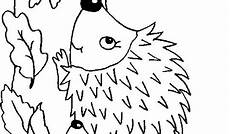 Malvorlagen Kinder Igel Malvorlagen Herbst Igel Ausmalbilder F 252 R Kinder Malen